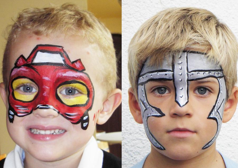 Steffis-Hits-for-Kids_Galerie_Kinderschminken_Feuerwehrauto_Ritter