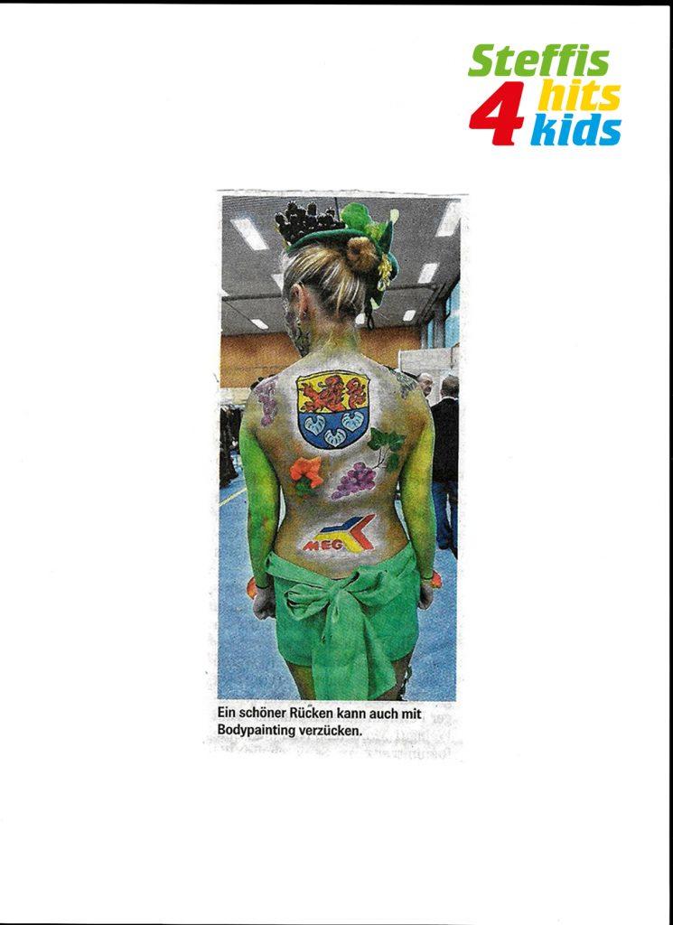 Steffis-Hits-for-Kids_Presse_Gewerbeschau Zwingenberg_Bergsträßer Anzeiger
